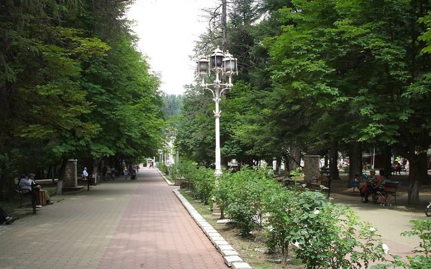 Parcul din statiune